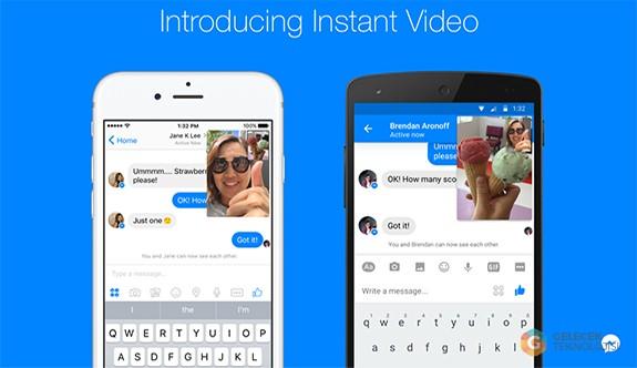Facebook Messenger bir kez daha Snapchat'e meydan okudu!