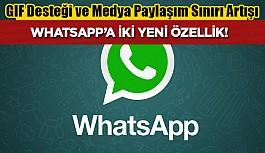 WhatsApp güncellemesi iki yeni özellik...